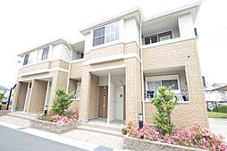 愛知県名古屋市緑区八つ松1丁目の賃貸アパートの外観