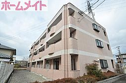 岐阜県可児市今渡の賃貸マンションの外観