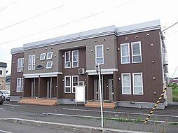北海道滝川市本町6丁目の賃貸アパートの外観