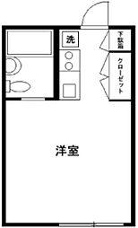 メゾンオキノ[2階]の間取り