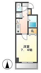 プレサンス桜通り葵[7階]の間取り