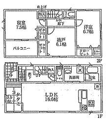 樟葉駅 2,580万円