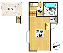 シティハイツ21 A棟[101号室]の間取り