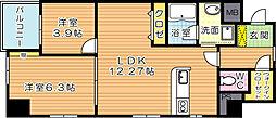 MDIセレーノ自由ヶ丘[11階]の間取り