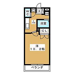 プチシャトー楽田[2階]の間取り