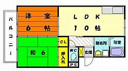 プレジール光陽台[1階]の間取り