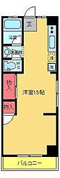 サンライフマンション[401号室]の間取り