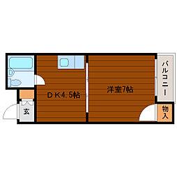 シティライフ小浜[2階]の間取り