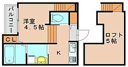 グランツ[2階]の間取り