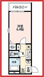東京都荒川区東日暮里2丁目の賃貸アパートの外観