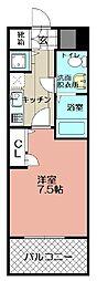 ピュアドームグランテージ博多 (1102)[1102号室]の間取り