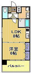 ARK ONE[10階]の間取り