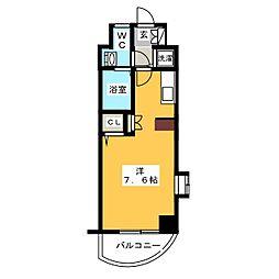 エンクレスト天神東[3階]の間取り