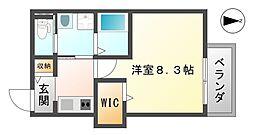 仮称尼崎市水堂町へーベルメゾン[102号室]の間取り