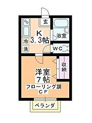 アーバンコア8[2階]の間取り