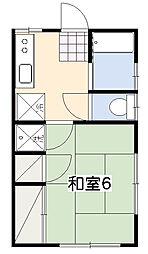 今井アパート[2階]の間取り
