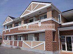 大阪府堺市中区土師町5丁の賃貸アパートの外観