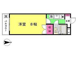 シャトーロマネ[1階]の間取り