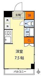 サンフラワーマンション[2階]の間取り