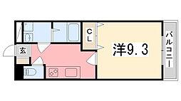 プロニティハウス[303号室]の間取り