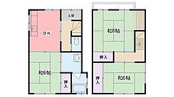 [一戸建] 兵庫県西宮市今津曙町 の賃貸【/】の間取り