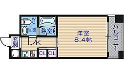 アスティナ御堂筋本町II[8階]の間取り