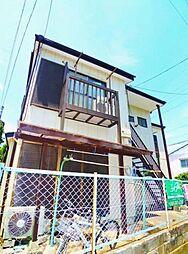 埼玉県富士見市鶴瀬東2丁目の賃貸アパートの外観