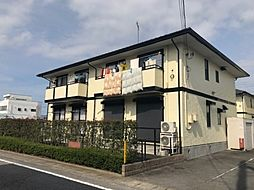 群馬県高崎市緑町の賃貸アパートの外観