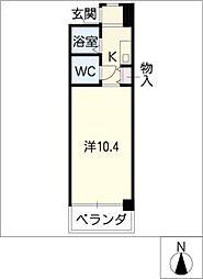 LIFE TOWER[6階]の間取り