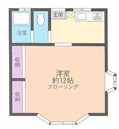 パークサイドハウスNo1[2階]の間取り