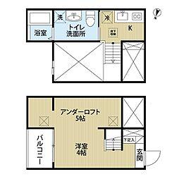 シェルト氷室(シュルトヒムロ)[2階]の間取り
