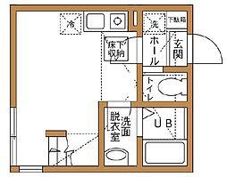 ヒルズ弘明寺[1階]の間取り