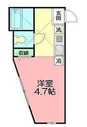 ドミール本郷台II[2階]の間取り