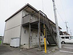 滋賀県守山市伊勢町の賃貸アパートの外観