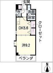 エスポワール春日井[3階]の間取り