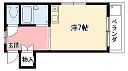 中野ハイツ[101号室]の間取り