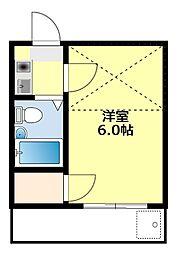 愛知県豊田市丸山町9丁目の賃貸アパートの間取り