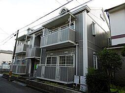 大阪府高槻市明野町の賃貸アパートの外観
