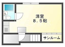 もんビル[3階]の間取り