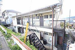 京都府京都市山科区大塚丹田の賃貸アパートの外観