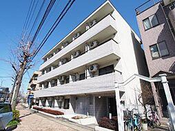 神奈川県川崎市多摩区宿河原の賃貸マンションの外観