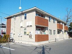 岡山県総社市西郡の賃貸アパートの外観