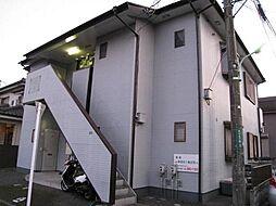 東京都あきる野市秋川5丁目の賃貸アパートの外観