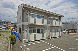 長野県長野市大字徳間の賃貸アパートの外観