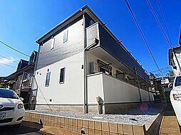 千葉県柏市根戸の賃貸アパートの外観