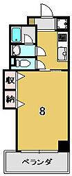 交庸マンション[3階]の間取り