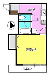 メゾン稲垣[303号室]の間取り