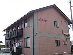 山梨県甲斐市万才の賃貸アパートの外観
