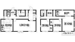 [一戸建] 兵庫県宝塚市中山五月台4丁目 の賃貸【/】の間取り