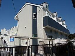 神奈川県藤沢市鵠沼海岸6丁目の賃貸アパートの外観